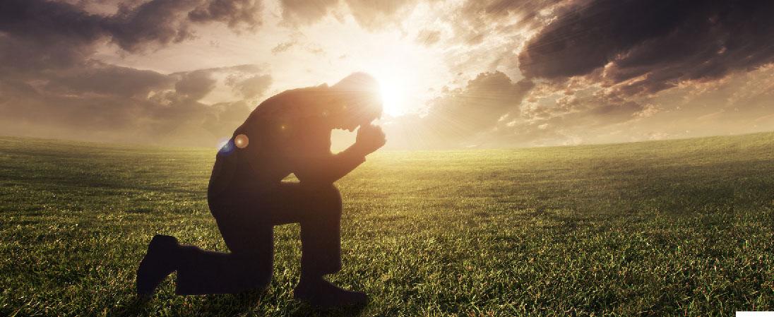 Prayer at South Seaville Camp Meeting